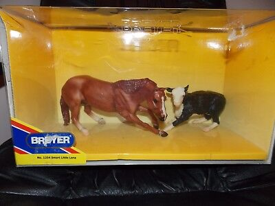 "Classic Breyer Horse And Cow Set New in Box ""1254 smart little Lena"""