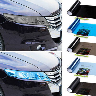 30X100CM Car Styling Film Light Change Color Stciker For Foglight Signal Lamp