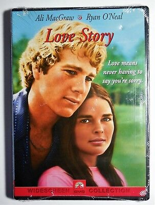Brand New GIFT Ready Love Story 1970 Widescreen R1 DVD Ali MacGraw Ryan O'Neal