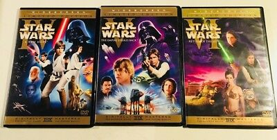 STAR WARS Limited Edition lot of theatrical DVD sets Episodes IV V VI