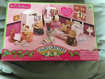 Enchanting Calico Critters Deluxe Living Room Set Elaboration ...
