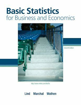 Basic Statistics for Business and Economics by Lind, Marchal, Wathen
