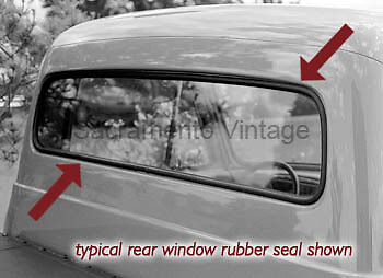 Usa Ford 1953 Rear Window Rubber Seal F100 Pickup Truck Back Glass Gasket Usa