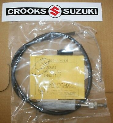 NOS S01-4-023 Suzuki RM80 Motocross Venhill Nylocable Throttle Cable