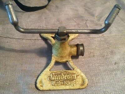 "Vintage SUNBEAM ""Rain King"" Model E Lawn Sprinkler/Garden Tool"