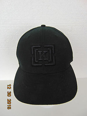 ... sale new era hat cap fitted star of the north 59fifty size 7 1 4 black 72763c73c642