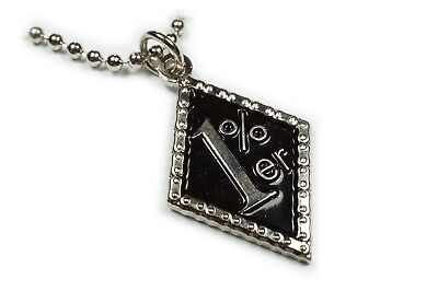1%ER Percenter 1 Percent Harley Biker Indian Charm Pendant Necklace w/ Chain