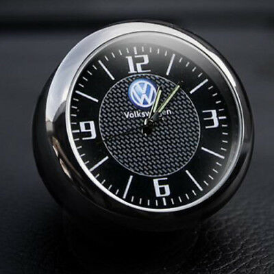 For Volkswagen Car Clock Refit Interior Luminous Electronic Quartz Ornaments