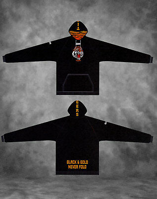 Black Balmain Tigers Hoodies