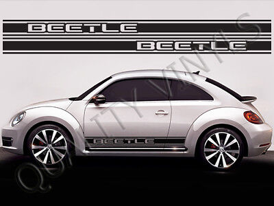 VW Beetle Graphics Side Racing Stripes Decals Stickers RS273