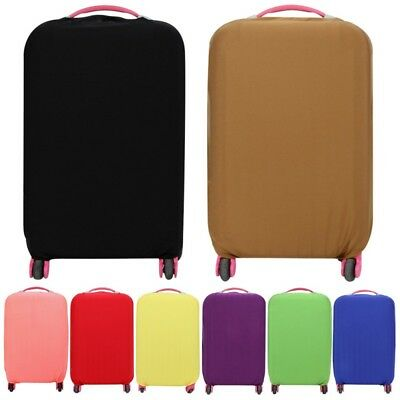 AU Travel Luggage Cover Protector Elastic Suitcase Bag Anti Dust And Scratch SML