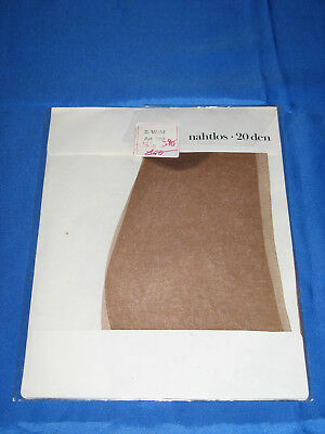 60s Nylonstrümpfe *no name* Gr. 9* Strapsstrümpfe Nylons Perlons Bas Stockings(2