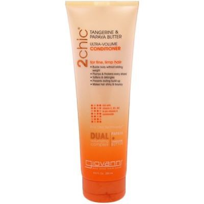 Giovanni 2chic Ultra-Volume Conditioner Tangerine & Papaya Butter 250ml