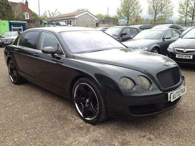 2005 05 Bentley Continental Flying Spur 6.0 Flying Spur 5 Seats 4D Auto 550 Bhp