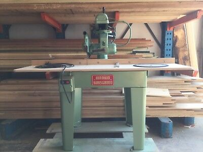 Wadkin, Bursgreen, cross cut saw, radial arm saw.  Refurbished. 240v , 12 inch