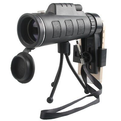 40X60 Zoom Optical Lens Monocular Telescope Night Vision Scope For Mobile Phone