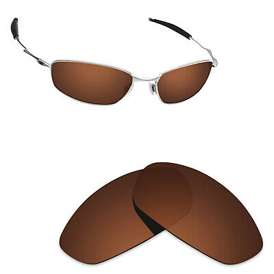 5e935b138c Hawkry Polarized Replacement Lenses for-Oakley Whisker Sunglass -Bronze  Brown