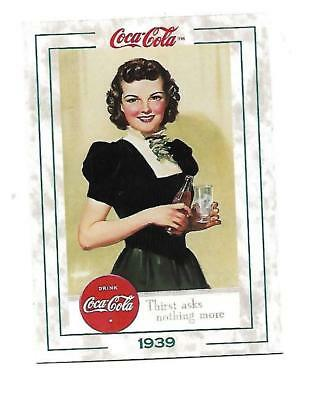 Coca Cola Collection Series 2 (1994) 1939 # 195 Thirst Asks Nothing More Hayden