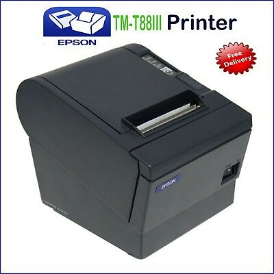 Refurbished Epson TM-T88III M129C POS Thermal Receipt USB Label Printer