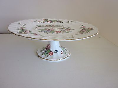 Crown Staffordshire Cake Stand made in England Pagoda