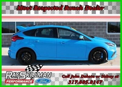 Ford Focus 2016 Ford Focus RS 2016 Used Certified Turbo 2.3L I4 16V Manual AWD Hatchback Premium  Focus RS