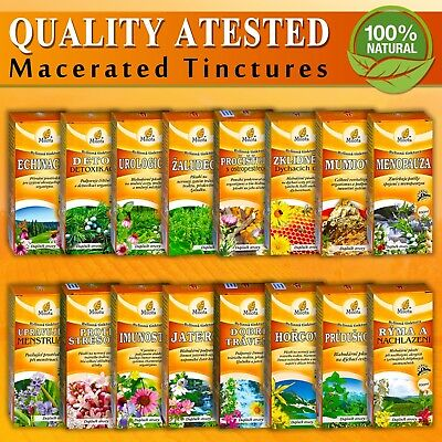 Organic Herbal Macerated Tincture Oil Heal Extract Handcrafted Different Kinds