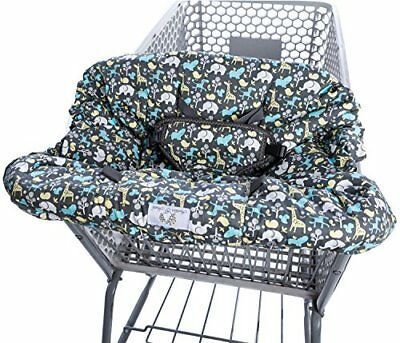 2-in-1 Shopping Cart Cover and High Chair Cover Universal Fit Ultra Plush 100...