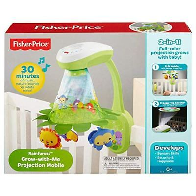 Fisher-Price - Projection Mobile - Grow-with-Me - Rainforest