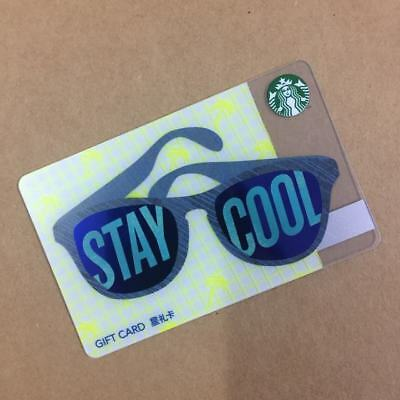 2016 China Starbucks Stay Cool Gift Card Pin intact