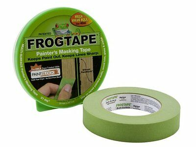 FROG TAPE 24mm X 41.1m PAINTERS MASKING ROLL MULTISURFACE PAINT BLOCK GREEN-1350