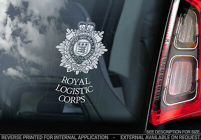 Royal Logistic Corps - Car Window Sticker - British Army Military Decal Sign V01