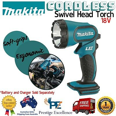 Makita Cordless Torch 18V LXT Li-ion Handheld Rechargeable Flashlight Work light