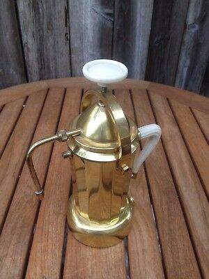 Brass Espresso Machine Italy Really Cute !! Vintage