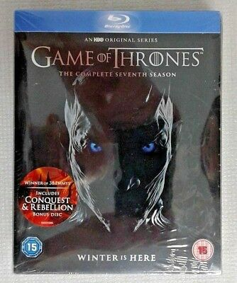 Game of Thrones 7th Season with Conquest & Rebellion Disc /UK release/ [Blu-ray]