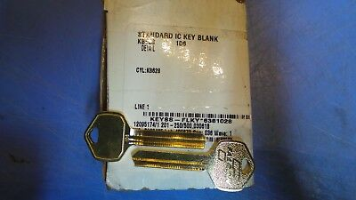 50 – Falcon KB263, 1D6 Key Blanks Standard IC Key Blank. New in Box