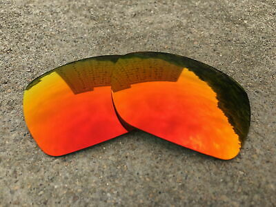 IR.Element Polarized Replacement Lenses for-Oakley Deviation Sunglass -Fire Red