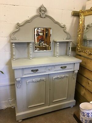 Painted Victorian Chiffonier