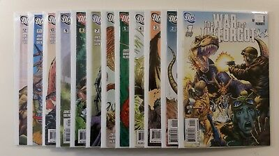 Full Run of The War The Time Forgot #1-12 DC NM Comics Complete 1st Prints 2008