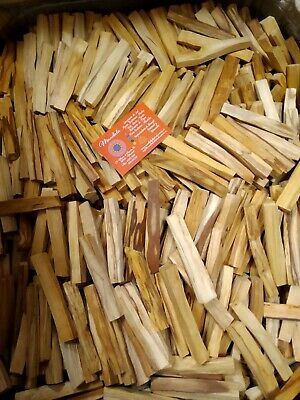PALO SANTO BOLSA DE 500gr ENTRE 30-50 PALITOS STICK HOLY INCIENSO NATURAL PERU