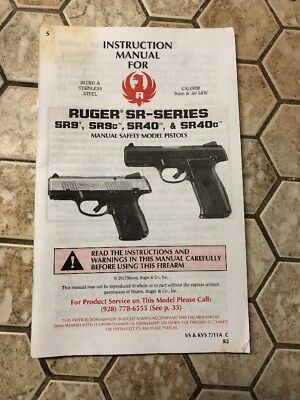 Ruger Pistols Manual Book Takedown Mark I Ii 22 22 Guide Direct