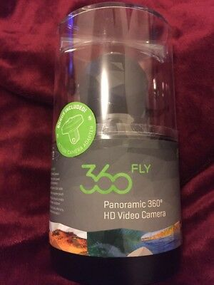Brand New 360Fly Panoramic 360 Degree Action HD Video Camera 32GB POV