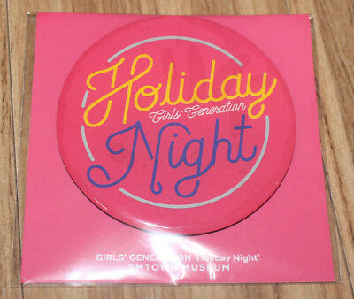 Girls' Generation Smtown Museum Official Goods Holiday Night Magnet Sealed