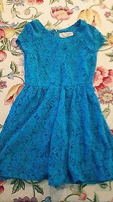 46e2e0d8283 NWT URBAN OUTFITTERS Coincidence   Chance Blue Lace Dress -  15.00 ...