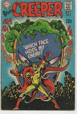 Beware of the Creeper #4, (1968), VG+ Shape, DC Comics