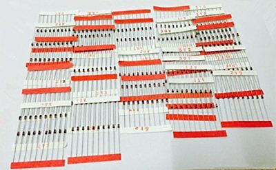 Ltvystore 300Ps 30 Values 1/2W 0.5W 2V To 39V Zener Diode Assorted Kit Assortmen