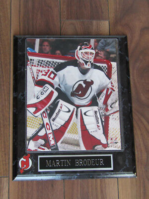 Martin Brodeur New Jersey Devils Hockey Plaque - 8 x 10 Picture Size