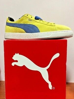 Puma Suede Classic (352634 76) Color Green Sheen-Palace Blue Sizes: 10-1/2 To 13