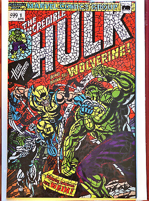 Hulk #181 Shattered Variant Hunt For Wolverine #1 Sold Out!!