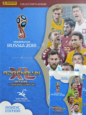 Adrenalyn World Cup Russia 2018: Choose Your Card (Nordic Edition)