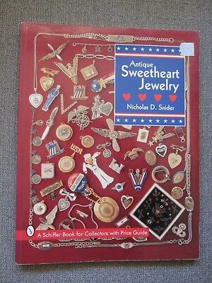 Vintage Military Sweetheart Jewelry Price Guide Collector's Book